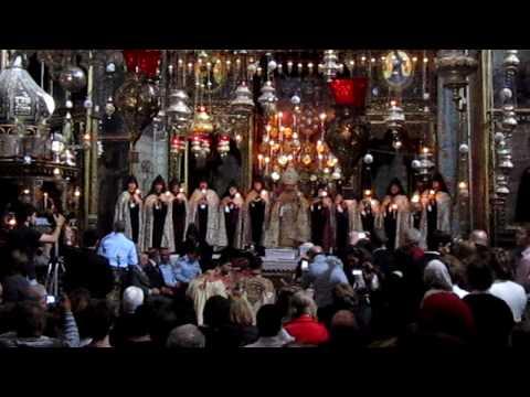 Armenian easter in Jerusalem 2010