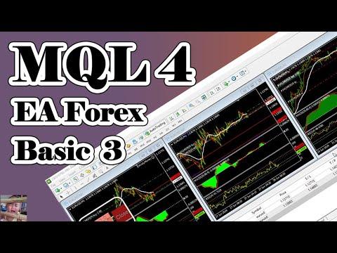 mql4 ea forex basic ep 1 intro course - YouTube
