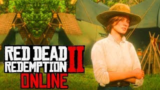 Red Dead Online: Official Gameplay Trailer! Release Date, Early Gameplay & More Coming Soon? (RDR2)