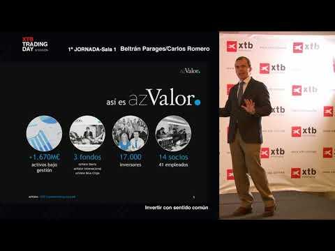 XTB Trading Day 2018: Invertir con sentido común, Carlos Romero de AzValor