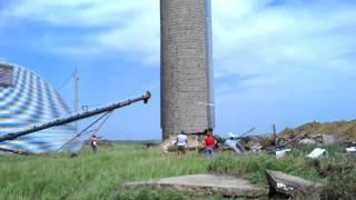 Shooting down a 75ft silo!!!