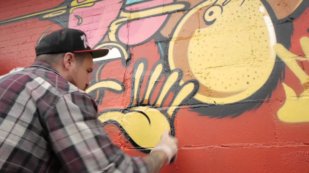 Converse Wall to Wall: Brooklyn Street Art by Jersey Joe - YouTube