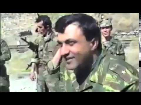 Встреча азербайджанских и армянских военных на границе между Нахчываном и армении.