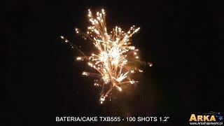 "Bateria/Cake TXB555 - 100 Shots 1.2"" Triplex"