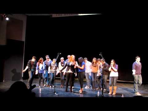 Sigma'cappella Beyonce Medley - Hofstra University