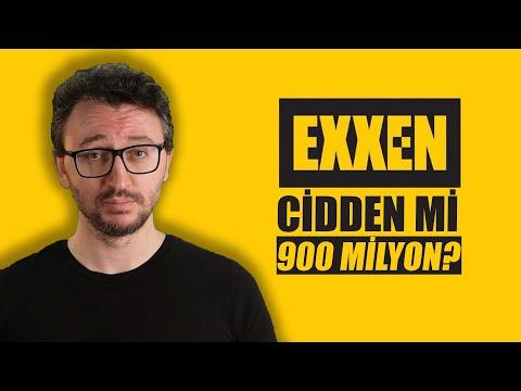 EXXEN ELEŞTİRİSİ - CİDDEN Mİ 900 MİLYON TL?