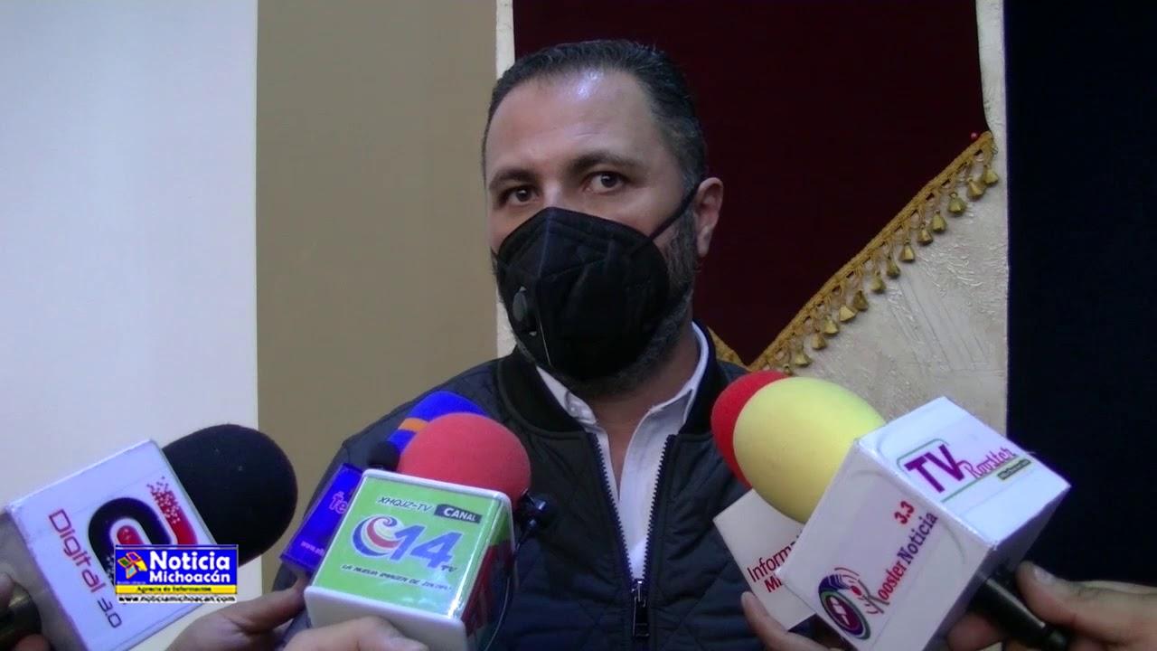 Luis Felipe León invertirá 8 millones de pesos para fortalecer la seguridad pública de Zacapu