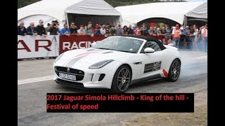 2017 Jaguar Simola Hillclimb - Knysna Festival of Speed