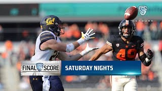 First half highlights: Cal shuts out Oregon State 21-0