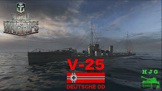 world of warships deutsche dd v 25