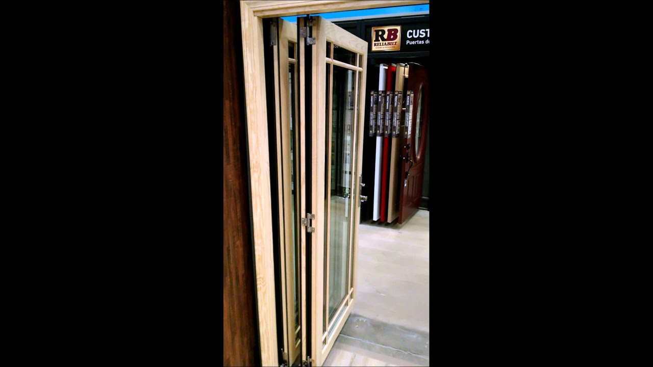 Jeld Wen 4500 Wood Folding Patio Door
