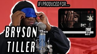 if i produced for bryson tiller rb trap type beat in fl studio