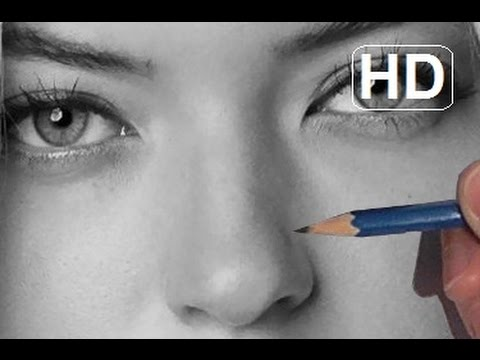 how to draw realistic eyes with pencil step by step