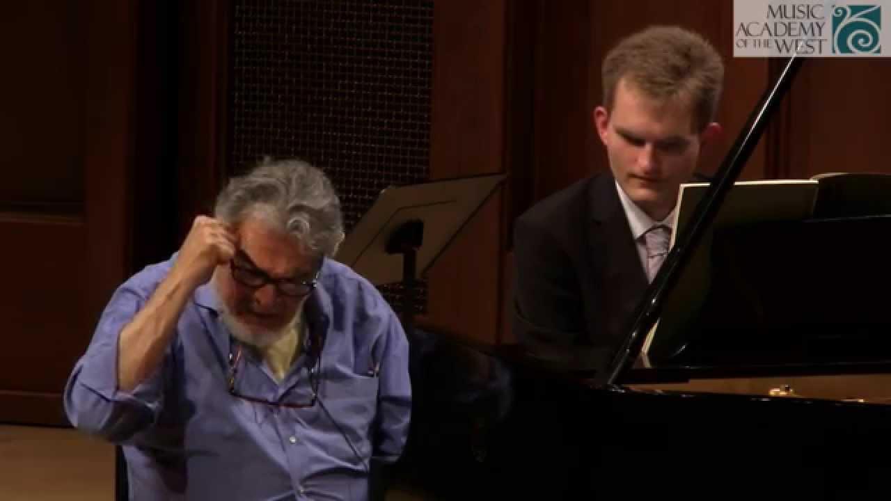 Leon Fleisher Solo Piano Masterclass July 13, 2015