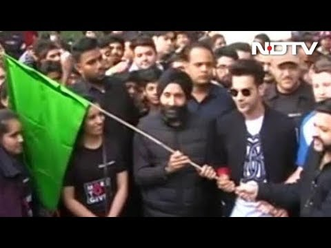 Manavjit Singh Sandhu Flags Off Organ Donation Walkathon In Jaipur