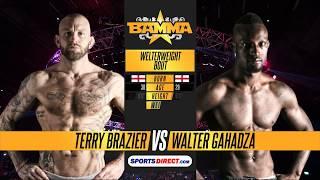 BAMMA 29: Terry Brazier vs Walter Gahadza