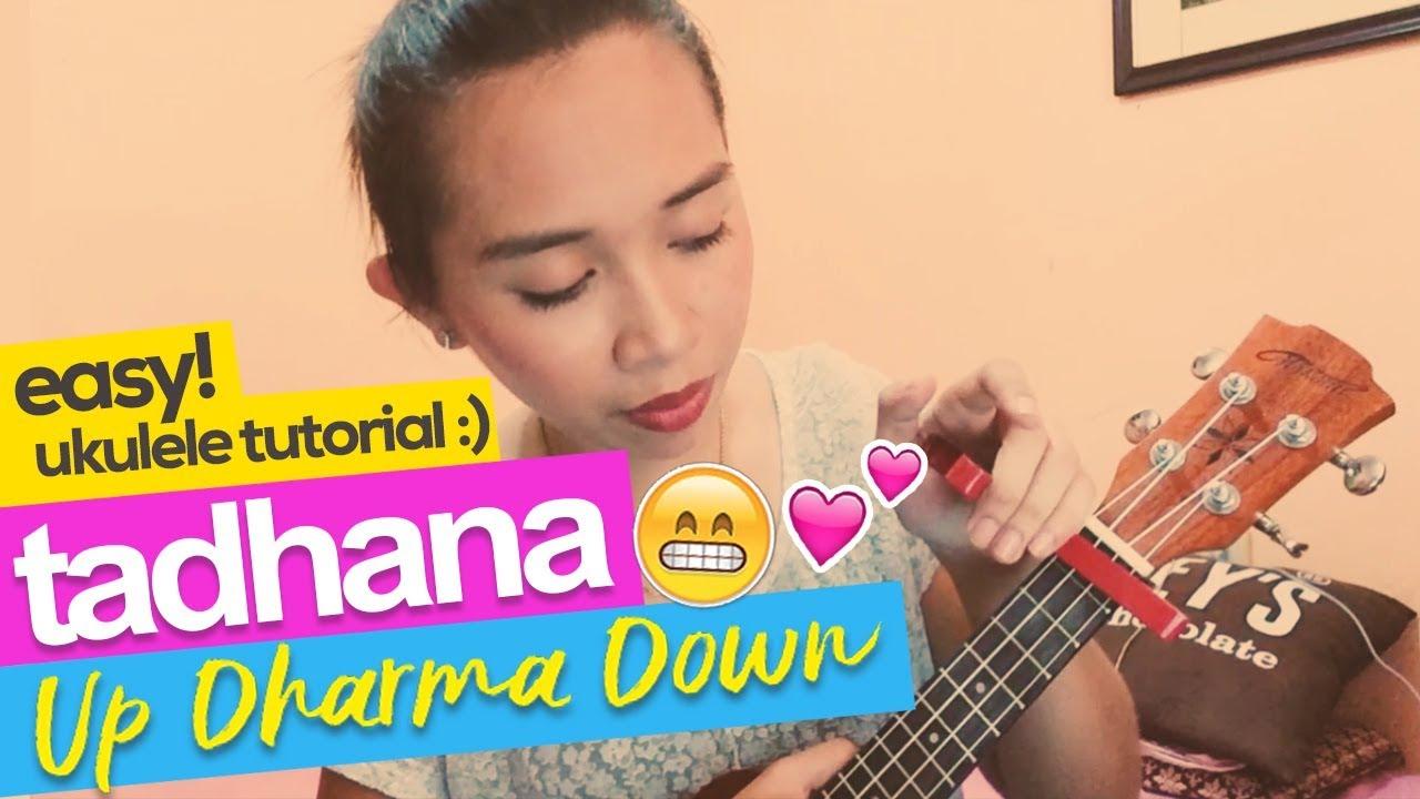 Tadhana Up Dharma Down Easy Ukulele Tutorial Plucking Youtube