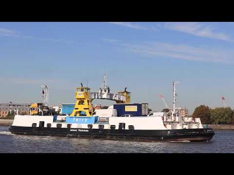 A visit to the Woolwich ferry - 27 Sept 2018