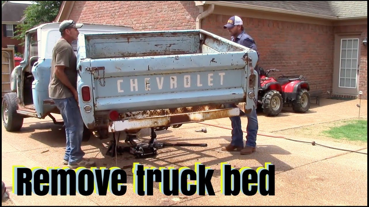 hight resolution of remove bed from chevy c10