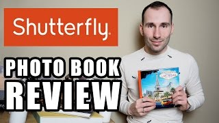 SHUTTERFLY LAY FLAT PHOTO BOOK - REVIEW
