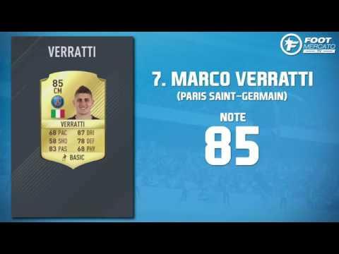 Les 15 Meilleurs Joueurs De Ligue 1 Sur FIFA 17 03