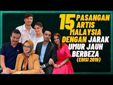 15 Pasangan Artis Malaysia Dengan Jarak Umur Jauh Berbeza - 23 Tahun Beza!