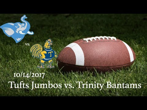 Fall 2017 - Football - Tufts Jumbos vs. Trinity Bantams