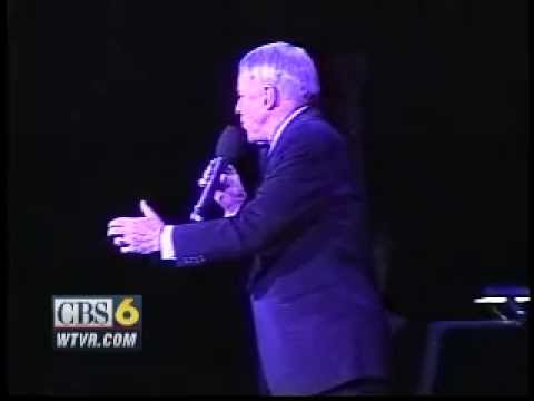 Frank Sinatra collapses on stage in Richmond: March 07 , 1994: CBS 6 Video  Vault