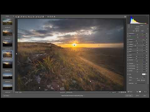 Обработка пейзажной фотографии с контровым светом. Adobe CameraRAW и Photoshop. Урок, пример работы