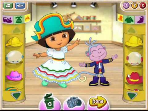 Dora The Explorer Ballet Adventure Full Game Dora