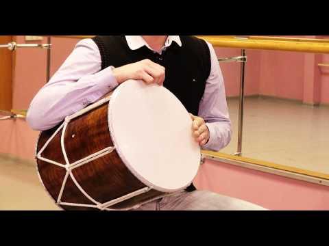 Видео-урок игры на кавказском барабане. Урок 1