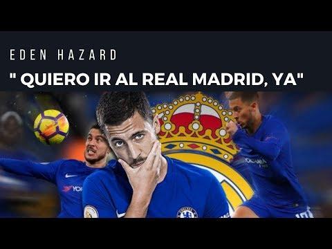 ÚLTIMA HORA : HAZARD PRESIONARÁ AL REAL MADRID PARA FICHAR YA