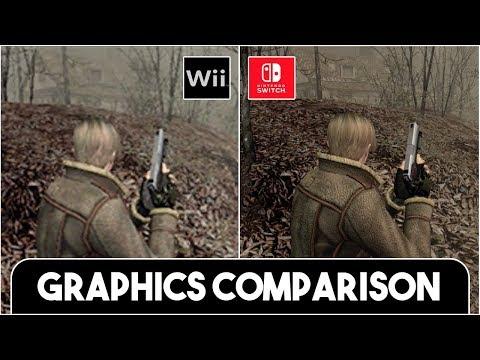 Resident Evil 4 Remastered Switch Vs Wii Gc Full Comparison