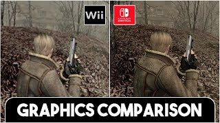 Resident Evil 4 Remastered SWITCH vs WII/GC - FULL COMPARISON (Graphics + Textures + Load Times)