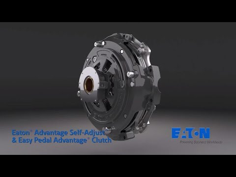 Eaton's upgraded Advantage Series heavy-duty clutches