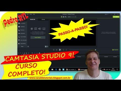 ▶CAMTASIA STUDIO 9  PASSO-A-PASSO! Gravação, edição e produção de vídeos!