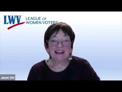 League Of Women Voters Election Forum 2020: US Congressional District 1