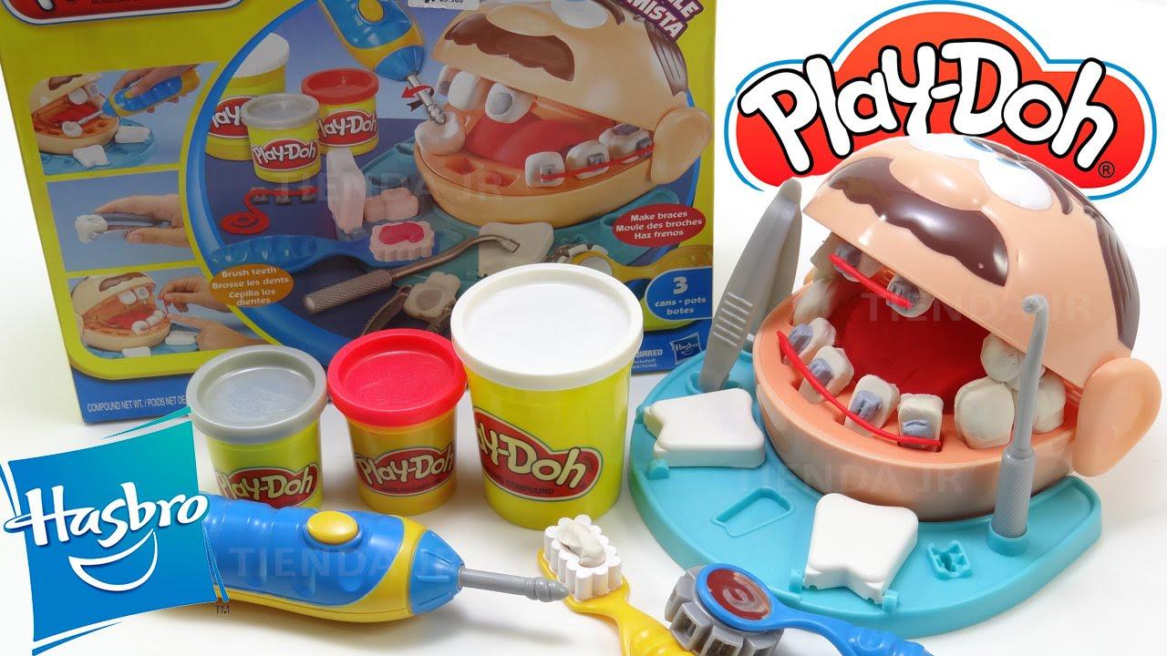 El Dentista Bomista De Play Doh Hasbro Doctor Drill N Fill Dentist