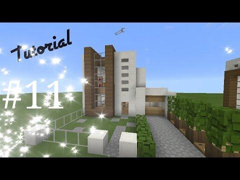 Como hacer una casa moderna de cuarzo en minecraft pe - Como acer una casa ...