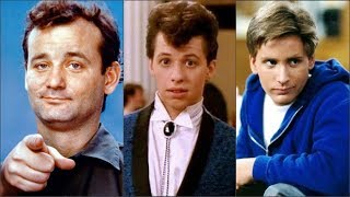 Actors of the '80s Then and Now