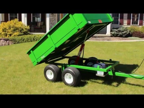 DT-2000 ATV Dump Trailer By TurfTime Equipment