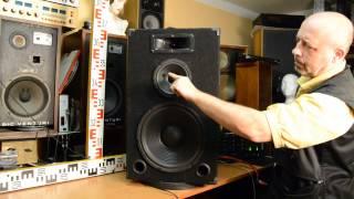 Reprosoustava k opravě - nehraje basák - loudspeaker #speaker service required