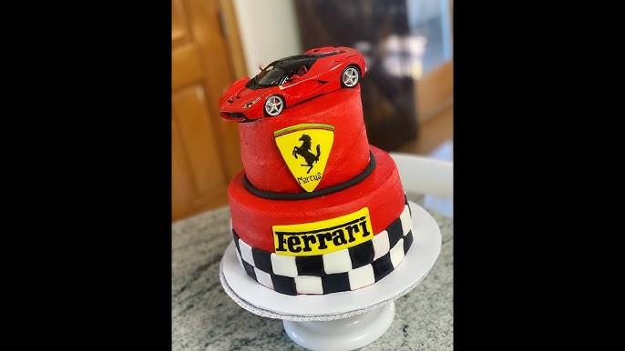 How To Ferrari Cake Youtube