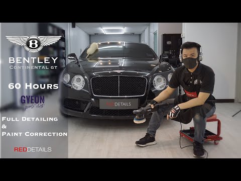 "Bentley Continental GT '"" Solid Black "" Full Detailing & Paint Correction"