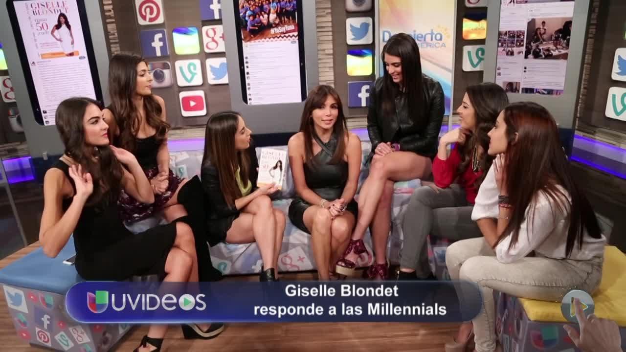 Giselle Blondet Y Su Novio