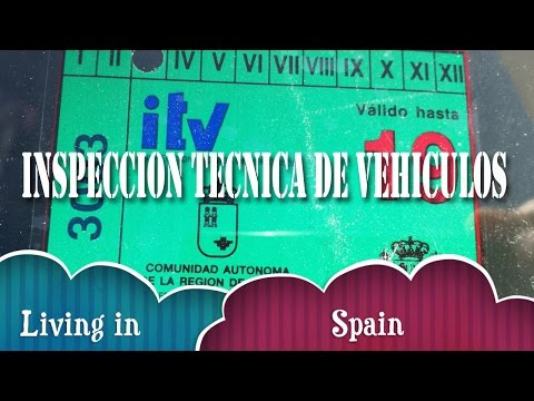 First MOT in Spain (ITV) Inspeccion Tecnica de Vehiculos