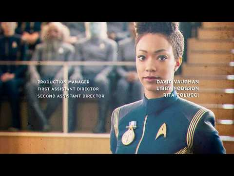 Star Trek Discovery Credits - TOS Style