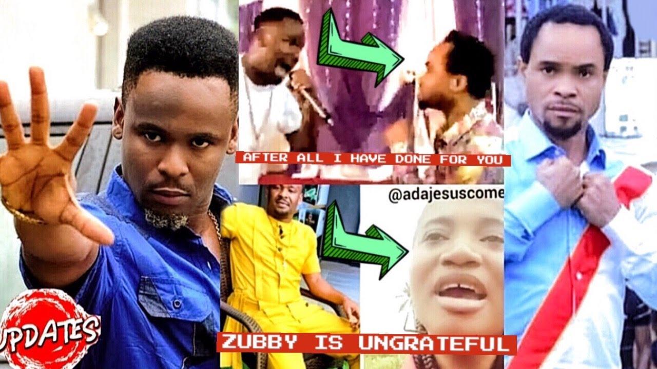 Download Moment Prophet Odumeje Slap Zubby Michael | You Are Ungrateful ADA JESUS Bl@st Zubby For LYING
