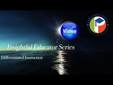 Differentiated Instructional Strategies Youtube