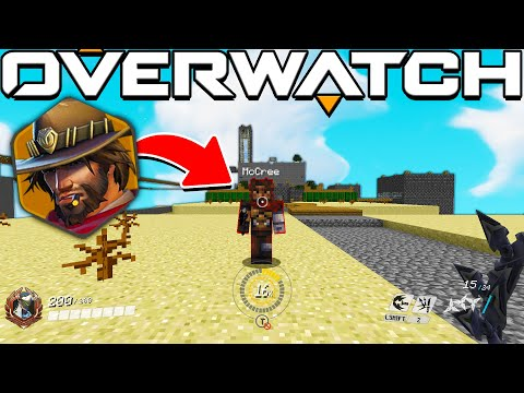 THE MOST OG MINIGAME IN MINECRAFT MEETS OVERWATCH REMATCH!? - MINECRAFT OVERWATCH MOD CTW